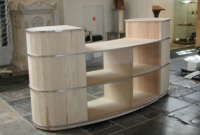 Keuken Design Meppel : Balie - Steen Interieurbouw