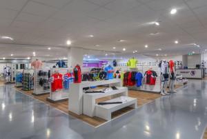 De showroom van Mantel Tweewielers in Arnhem